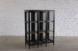 <img class='new_mark_img1' src='https://img.shop-pro.jp/img/new/icons47.gif' style='border:none;display:inline;margin:0px;padding:0px;width:auto;' />CAGED STRAGE CABINET BK