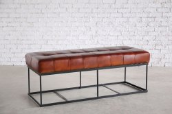 <img class='new_mark_img1' src='https://img.shop-pro.jp/img/new/icons47.gif' style='border:none;display:inline;margin:0px;padding:0px;width:auto;' />BENCH LEATHER SOFA 2P