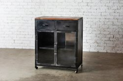 Re WOOD GLASS CABINET                    価格はお問い合わせ下さい