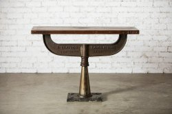 <img class='new_mark_img1' src='https://img.shop-pro.jp/img/new/icons47.gif' style='border:none;display:inline;margin:0px;padding:0px;width:auto;' />IRON WOODEN CONSOLE TABLE