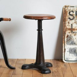 <font color=red>送料無料</font> INDUSTRIAL SINGER STOOL