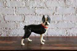 <img class='new_mark_img1' src='https://img.shop-pro.jp/img/new/icons47.gif' style='border:none;display:inline;margin:0px;padding:0px;width:auto;' />Cast Iron Door stopper  Boston Terrier
