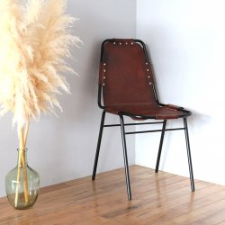 <img class='new_mark_img1' src='https://img.shop-pro.jp/img/new/icons57.gif' style='border:none;display:inline;margin:0px;padding:0px;width:auto;' />LEATHER CHAIR BLACK/BROWN