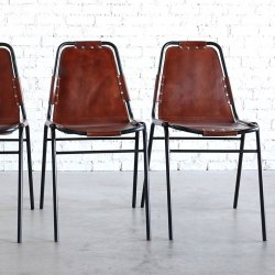<img class='new_mark_img1' src='https://img.shop-pro.jp/img/new/icons47.gif' style='border:none;display:inline;margin:0px;padding:0px;width:auto;' />LEATHER STEEL CHAIR