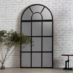 IRON FRAME ARCH MIRROR