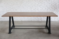 <img class='new_mark_img1' src='https://img.shop-pro.jp/img/new/icons47.gif' style='border:none;display:inline;margin:0px;padding:0px;width:auto;' />IRON WOODEN WORK TABLE