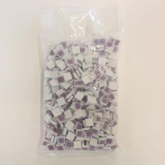 10ミリ角バラタイル大袋 紫500g