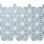 麻の葉 藍白 FRO-024 / 13シート(1m×1mの広さ分)