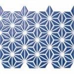 麻の葉 瑠璃色 FRO-026 / 13シート(1m×1mの広さ分)