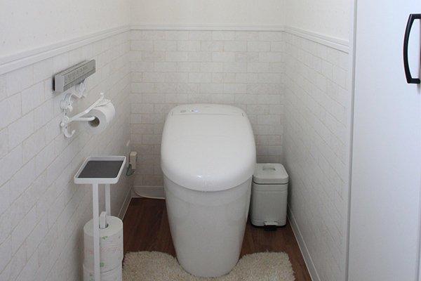 オトナ可愛いおしゃれなフレンチトイレ