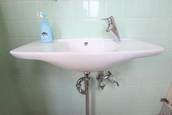 お掃除しやすい清潔感のあるトイレ