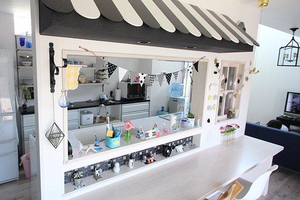 パリのマルシェをイメージした、色使いが超絶かわいいシャレットキッチン