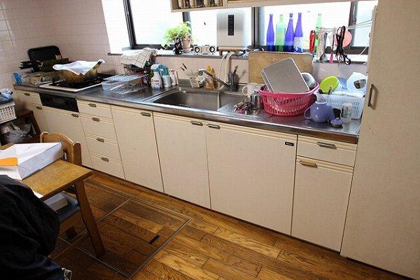 美しく上質なシステムキッチン・シエラへ交換