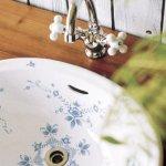 洗面器Mオーバルオールドイングランド・混合栓セット