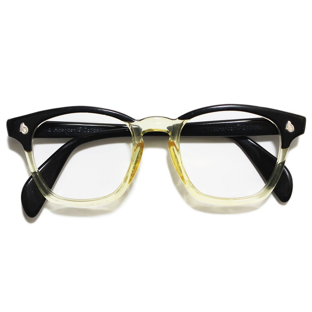 Vintage 1950's American Optical 2Tone Wellington Eyeglasses