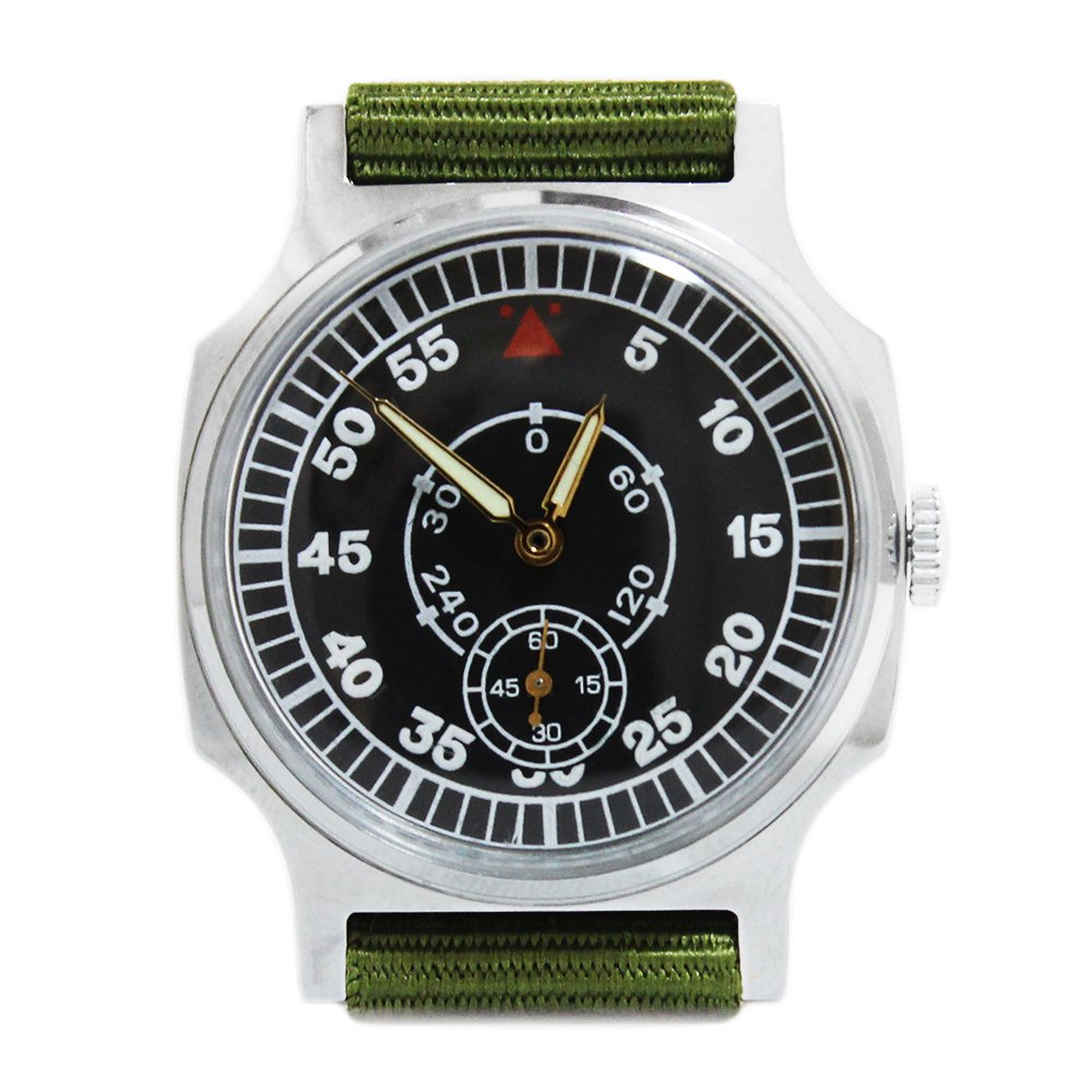 【Dead Stock】 1970's POBEDA Soviet Russian Aviator Pilots Watch
