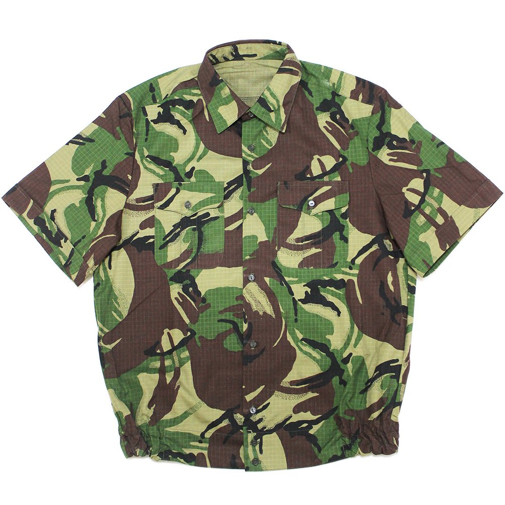 【Dead Stock】Vintage 80's British Army Camouflage Shirts