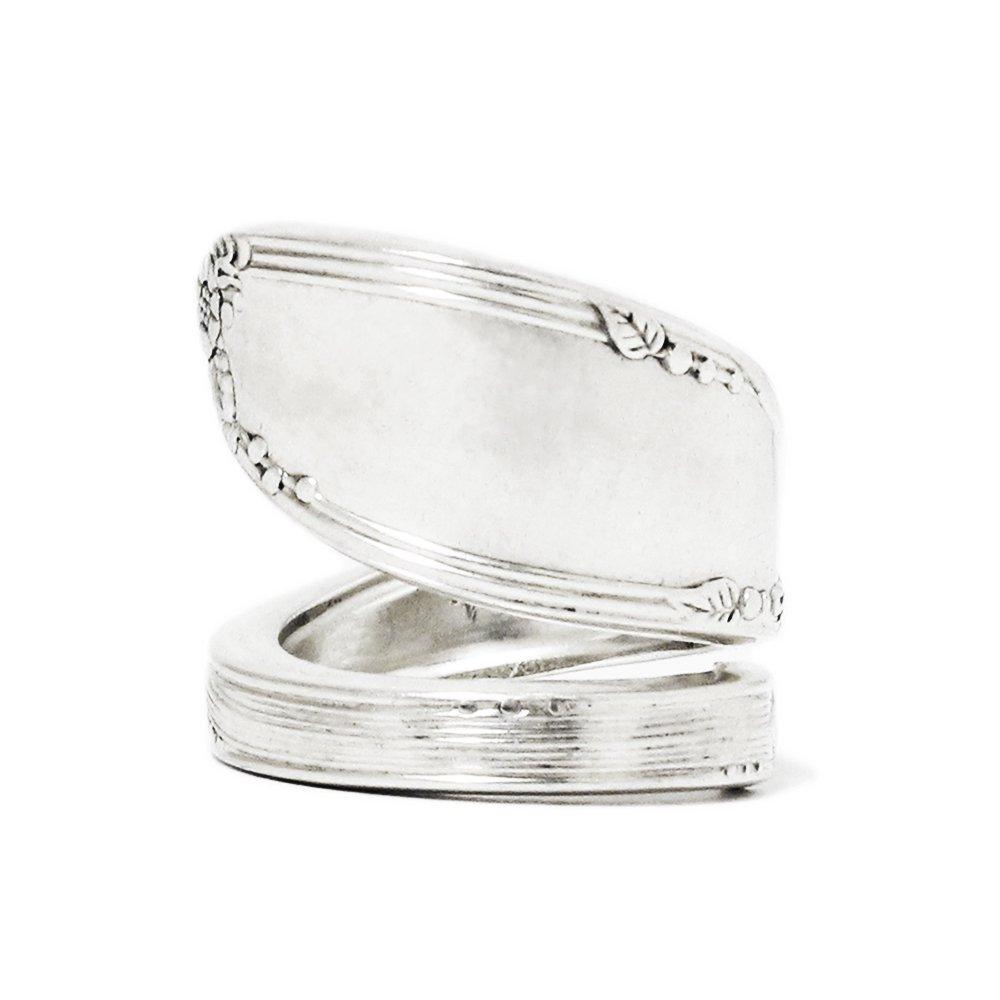 Vintage 1930's Oneida Spoon Ring -Heavy Weight-
