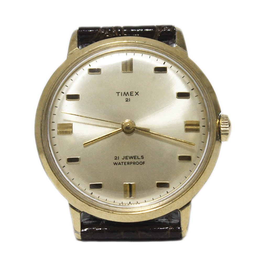 Vintage 70's TIMEX Wrist Watch -21 JEWELS-