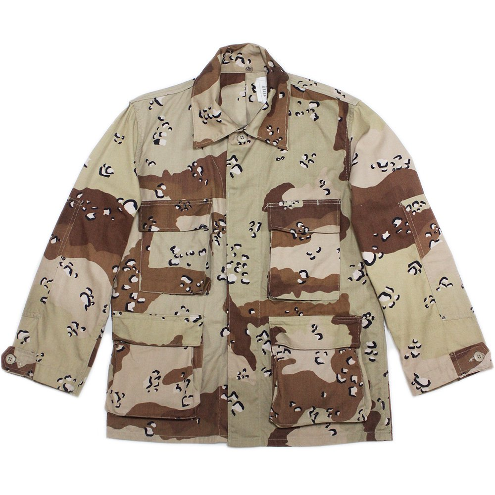【Dead Stock】Vintage 80's U.S. Army Desert Camouflage BDU Jacket