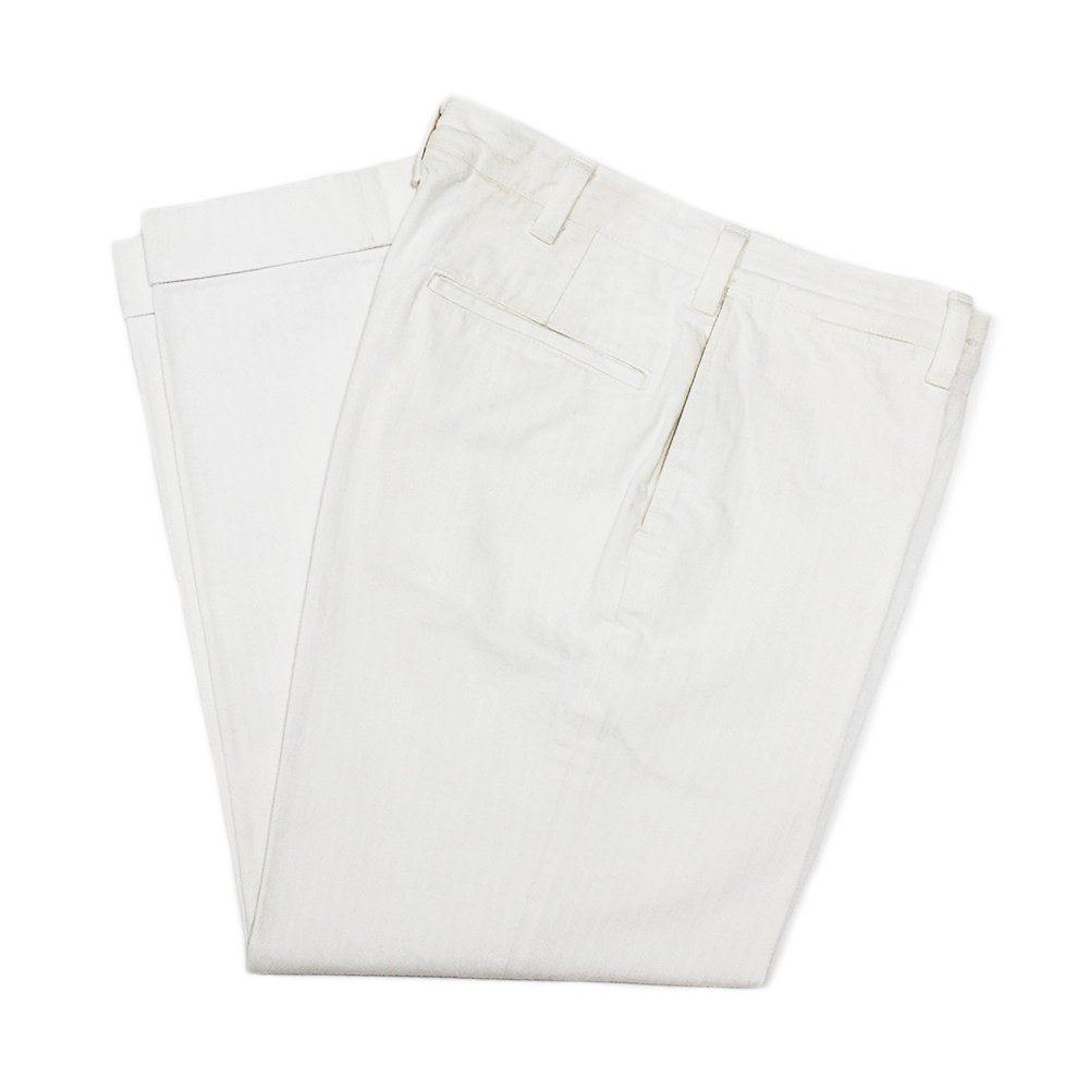 AtLast&Co White Herringborn Trousers