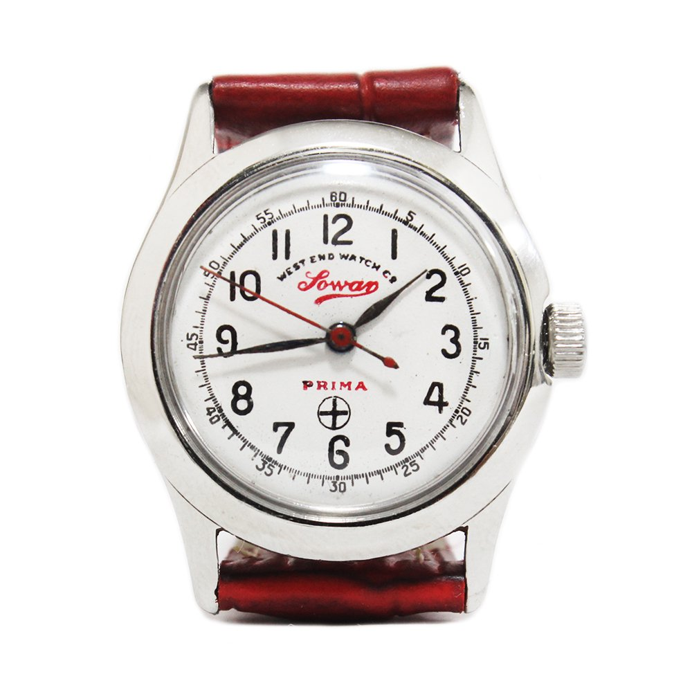 Vintage 70's West End Watch Co. Sowar Military Ladies Watch -Swiss Made-