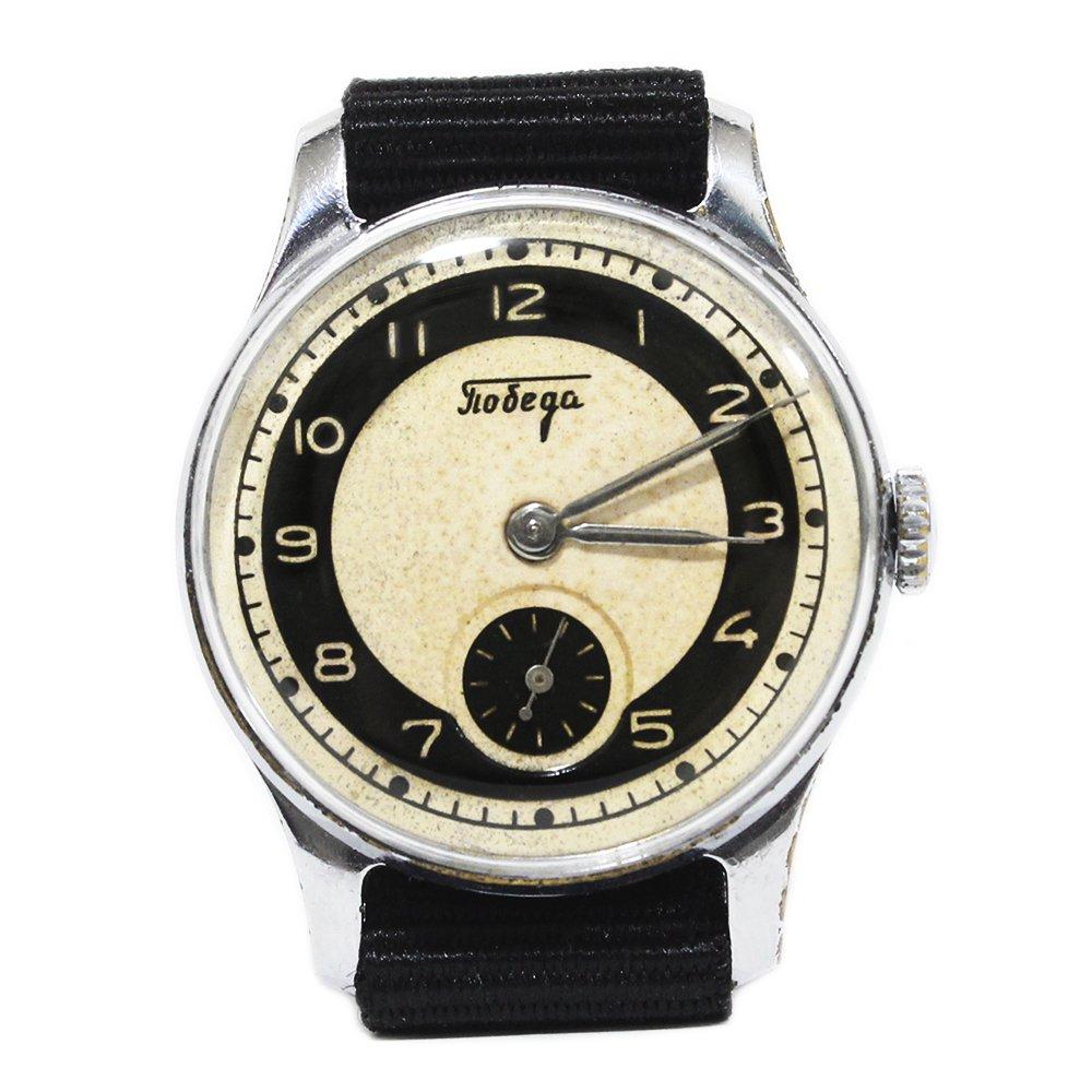 Vintage 1950's Pobeda Soviet Russian Watch -USSR-