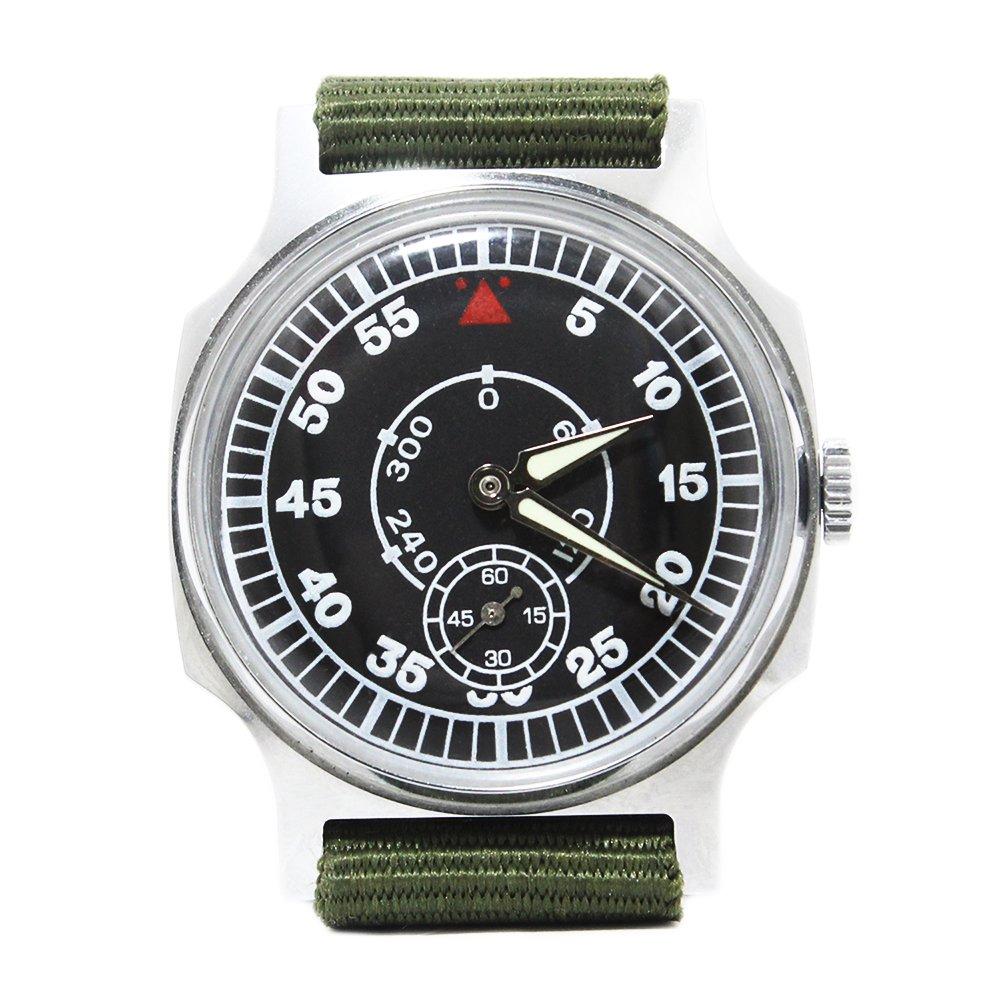 【Dead Stock】Vintage 1970's Pobeda ZIM Soviet Russian Aviator Pilots Watch