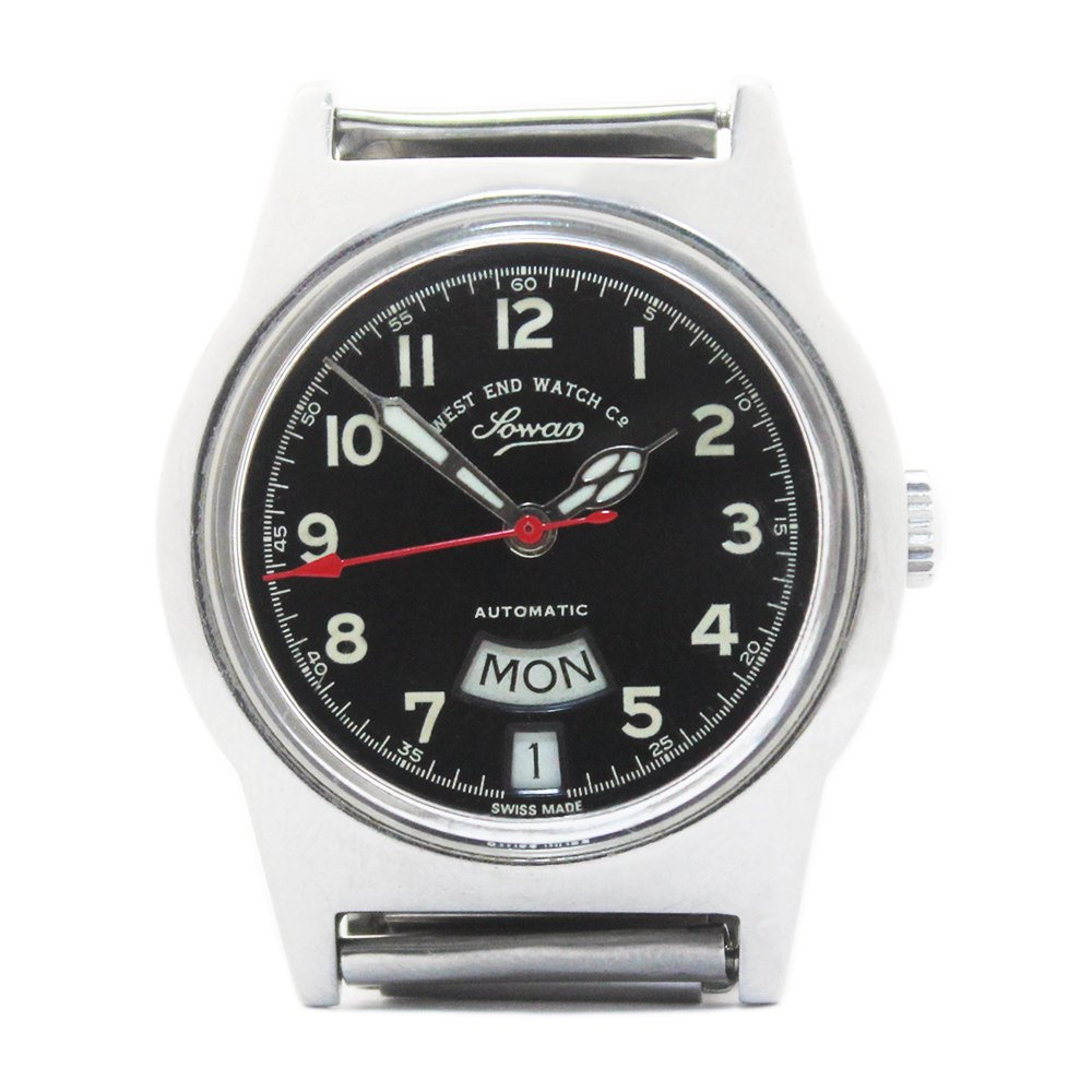 Vintage 70's West End Watch Co. Sowar Military Watch -Swiss Made-