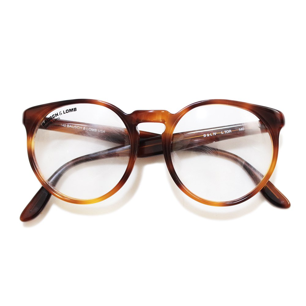 【Dead Stock】Vintage 70's Bausch&Lomb � Boston Eyeglasses -Made in U.S.A.-
