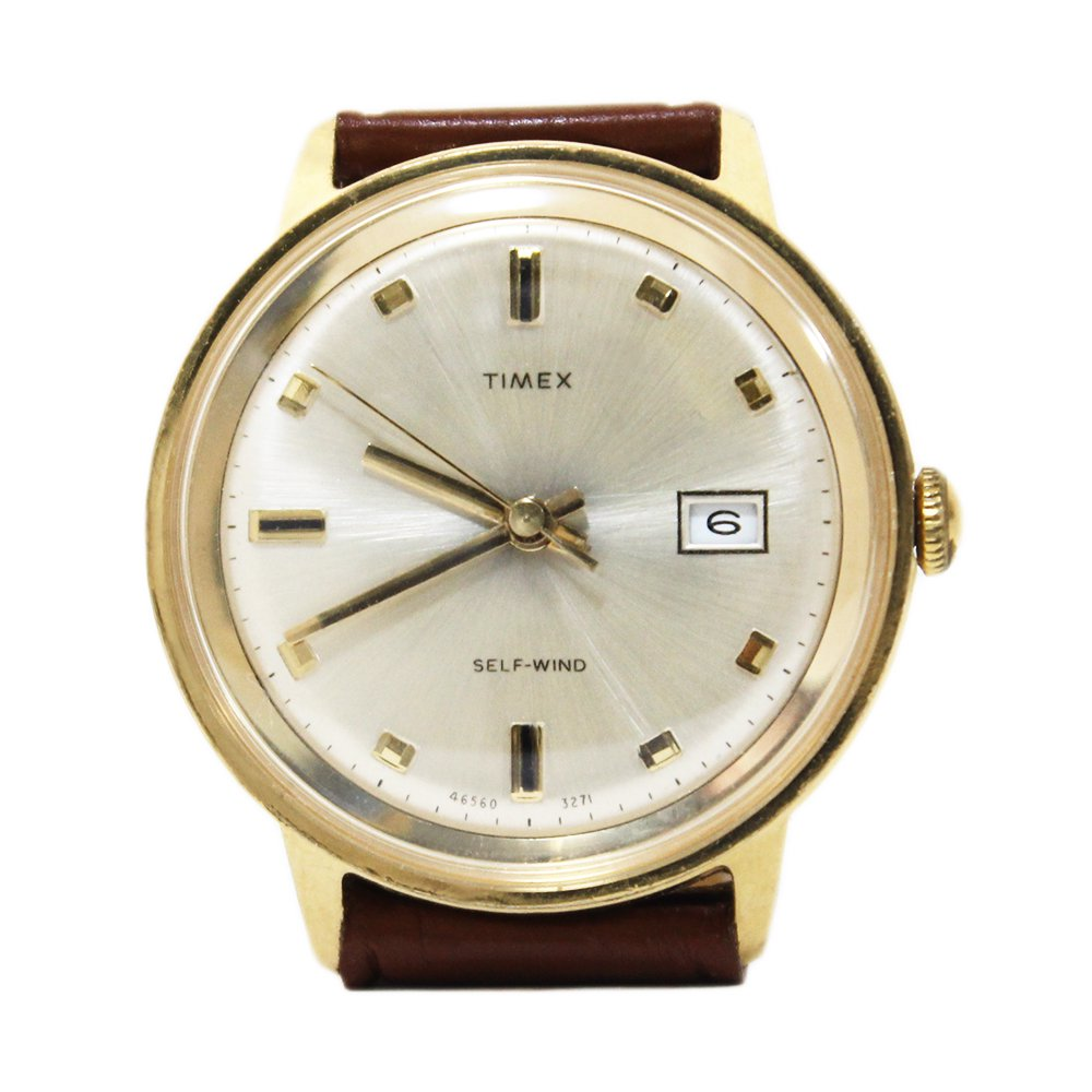 Vintage 1970's TIMEX Thick Watch -Self Wind-