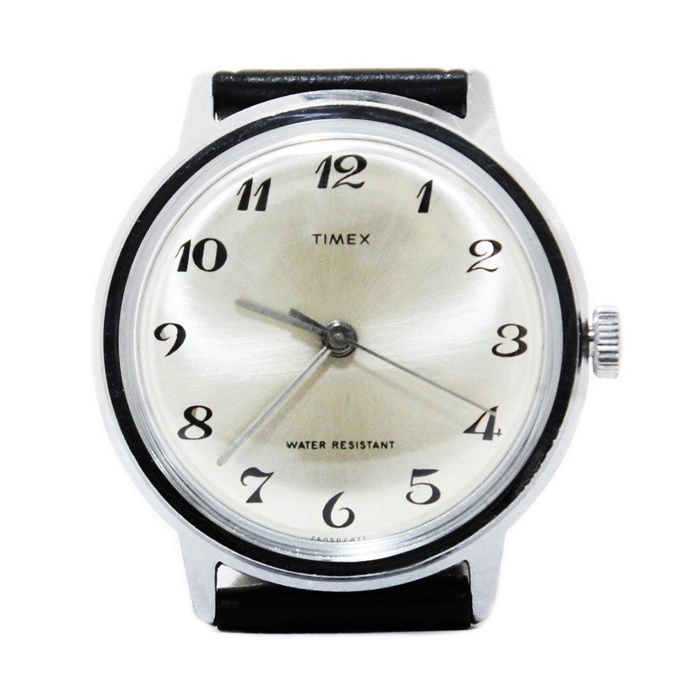 Vintage 1970's TIMEX Wrist Watch -Silver-