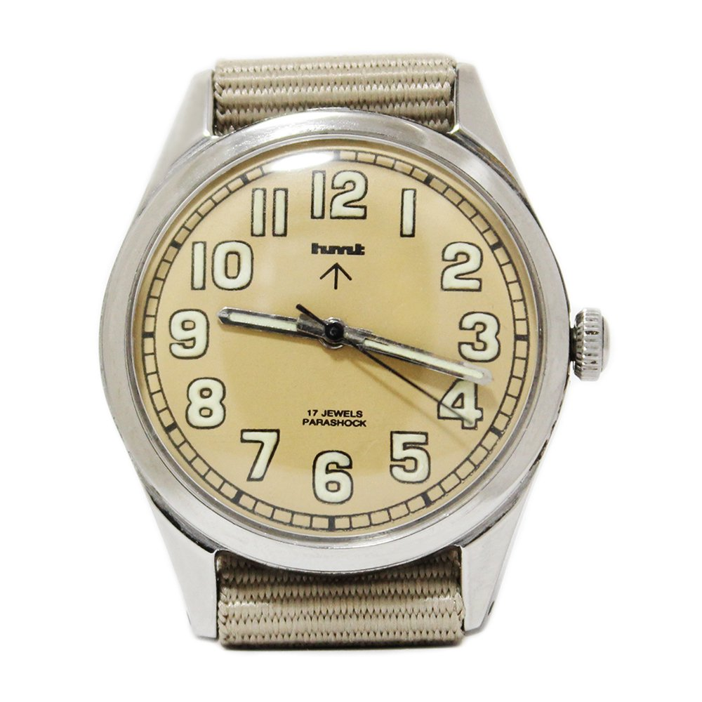 【Dead Stock】Vintage 1970's HMT British Army Military Watch -Sand Beige-