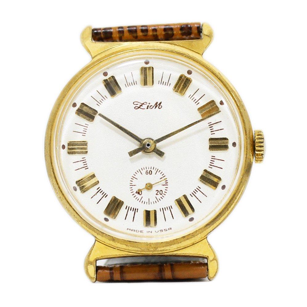Vintage 1970's POBEDA Zim Soviet Russian Watch -Made in USSR-