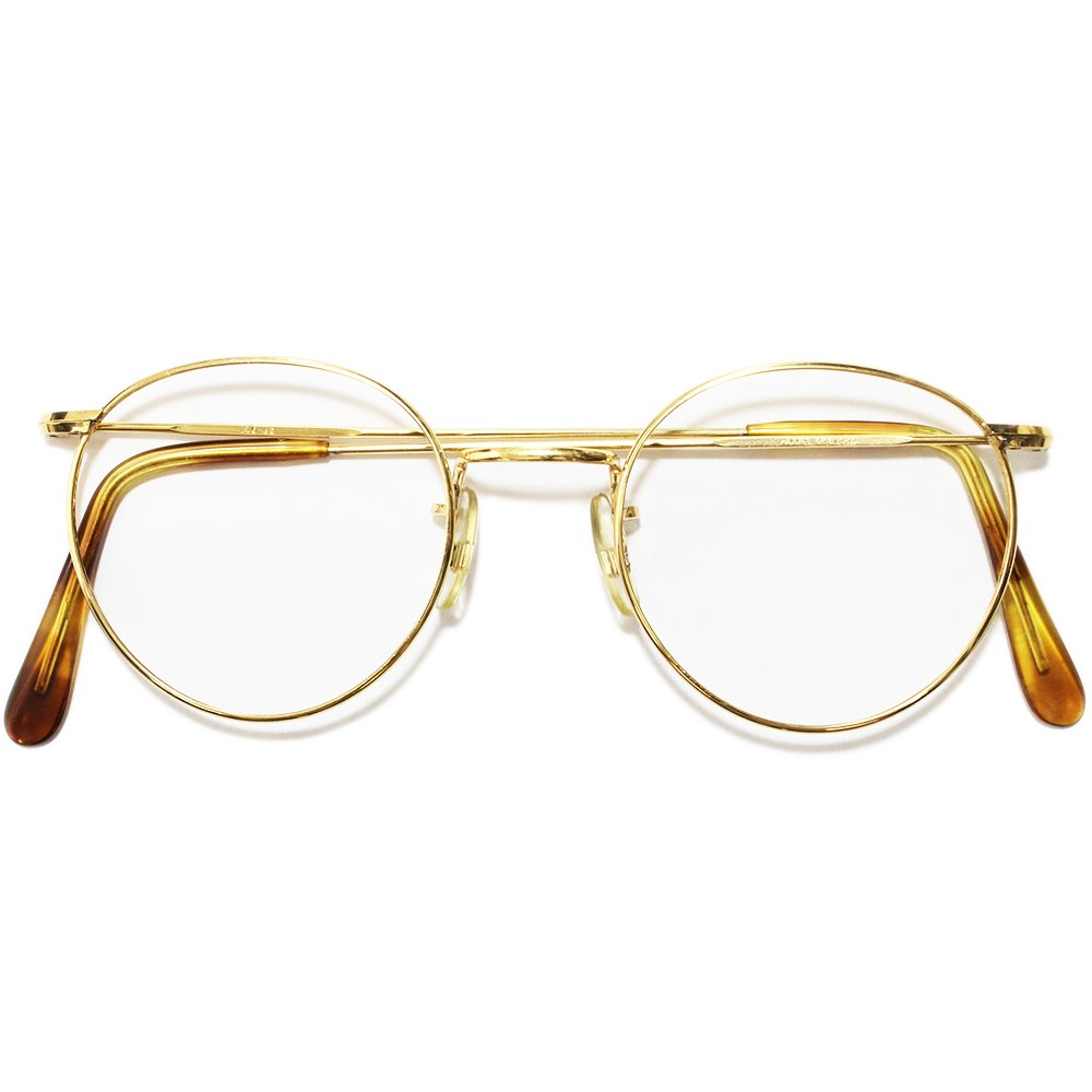 Vintage 1980's Algha Works 14KT RG Eyeglasses -Made in England-