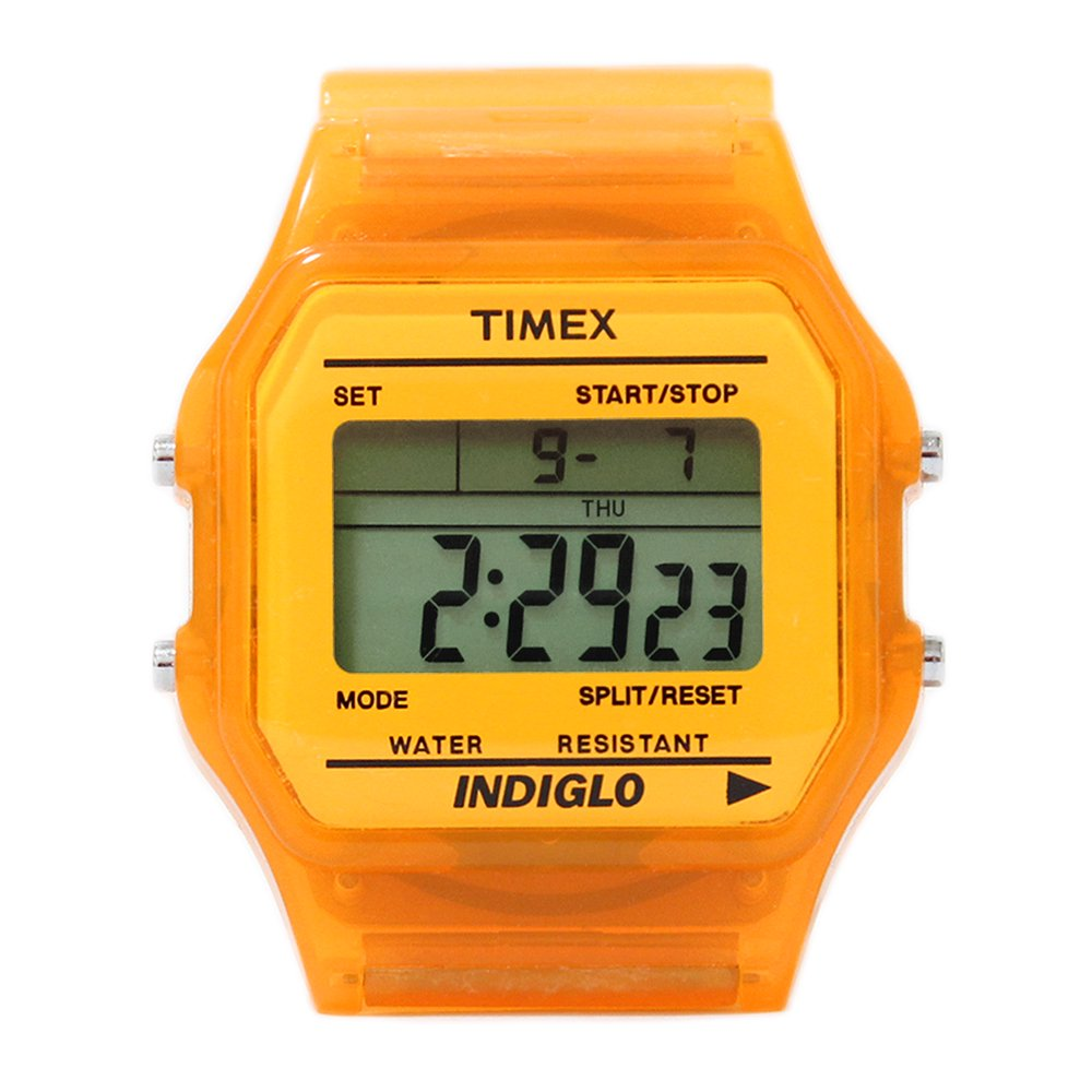 TIMEX Classic Digital Watch -Neon Orange-