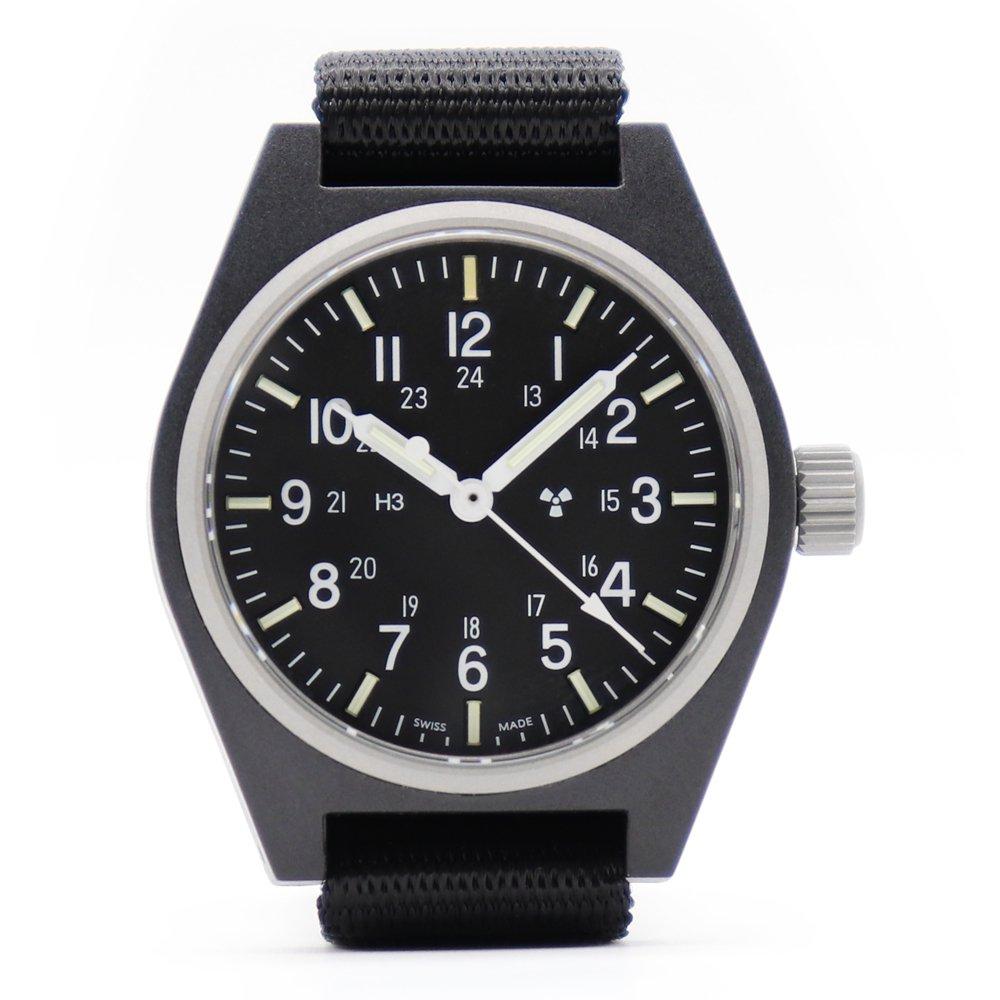 Marathon U.S. Military General Purpose Field Watch Sterile -Black-