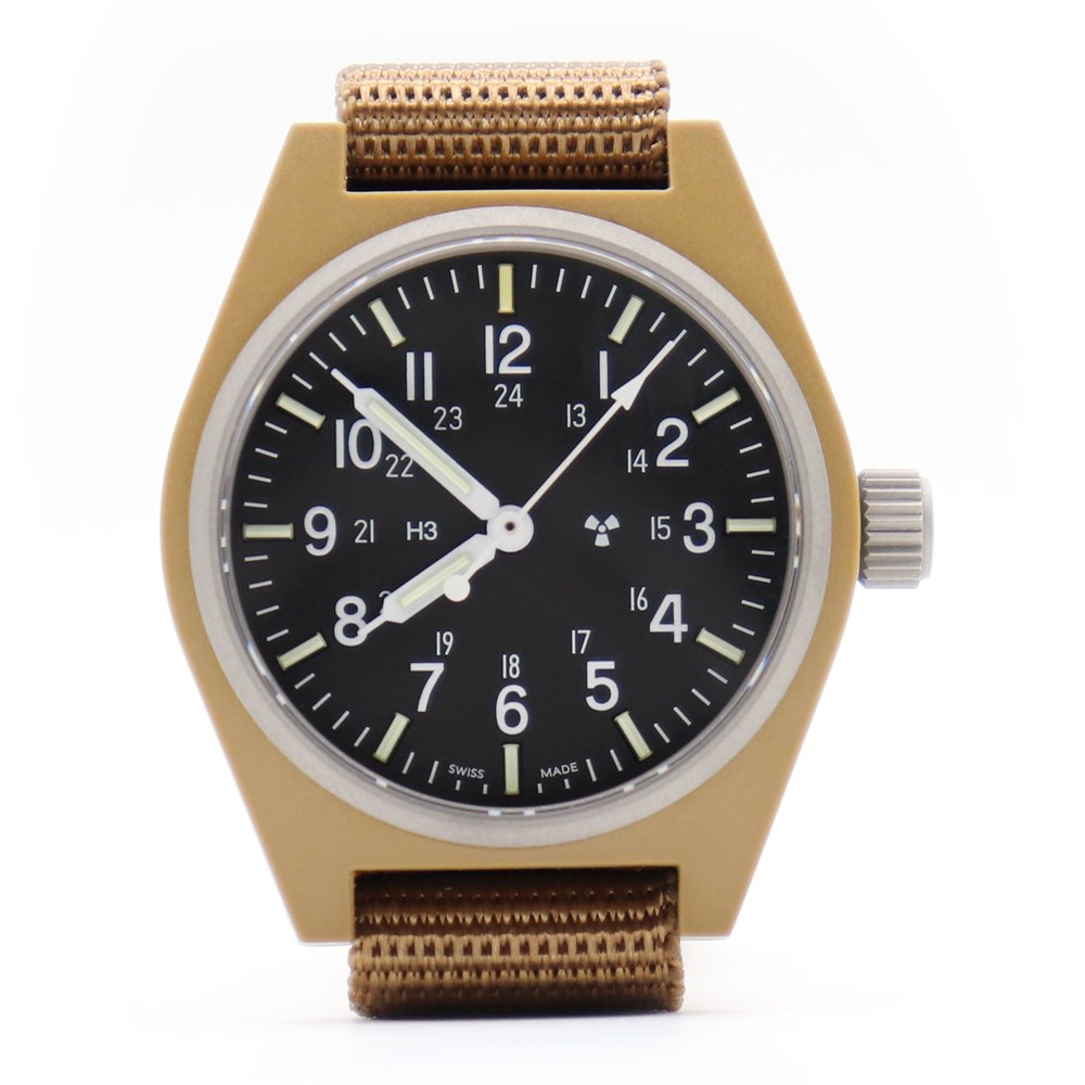 Marathon U.S. Military General Purpose Field Watch Sterile -Coyote Brown-