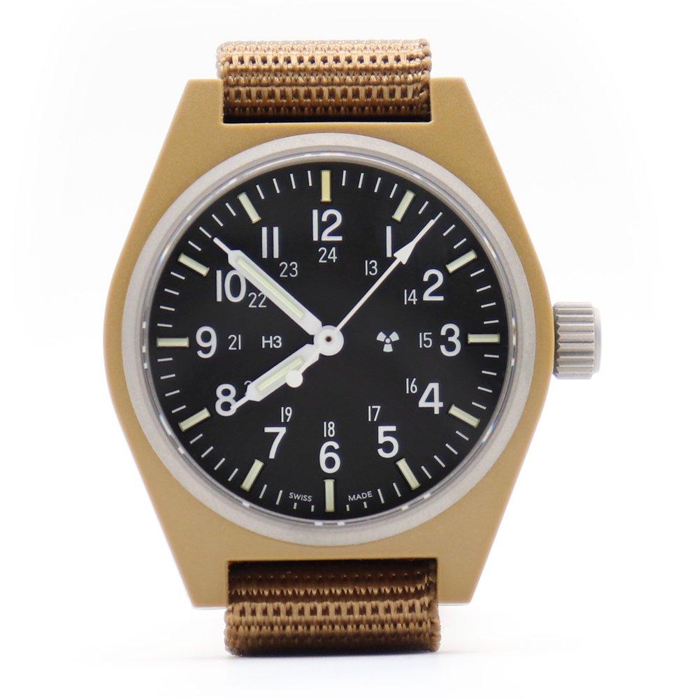 Marathon U.S. Military General Purpose Field Watch Sterile -Coyote Brown-