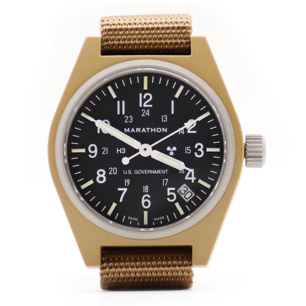 Marathon U.S. Military General Purpose Field Watch with Date -Coyote Brown-