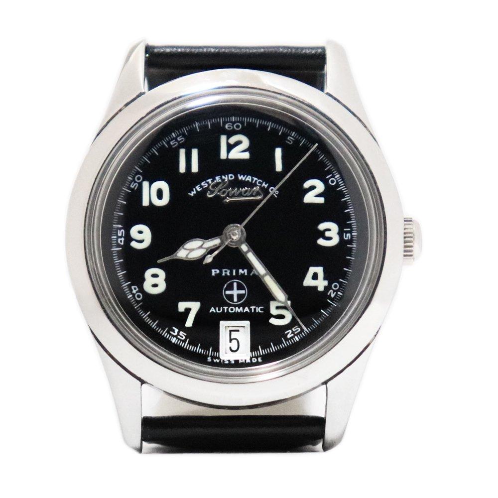 Vintage 1970's West End Watch Co. Sowar British Military Watch -Swiss Made-