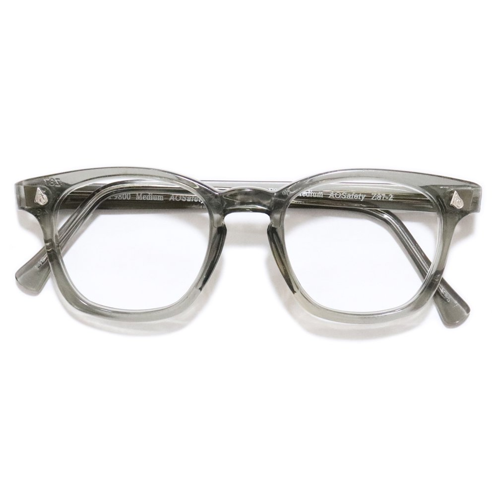 Vintage 1980's American Optical Safety Glasses -Gray Smoke-