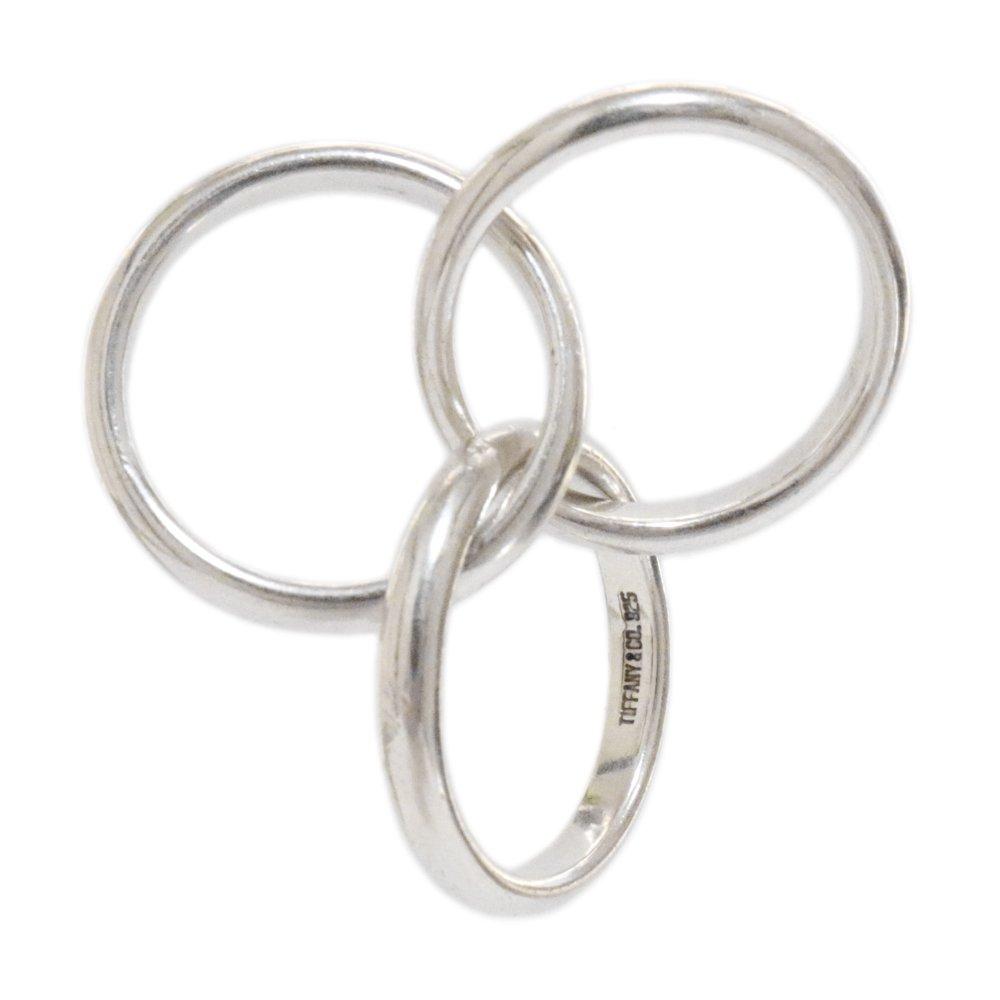 Vintage 90's Tiffany&Co. 925 Triple Ring