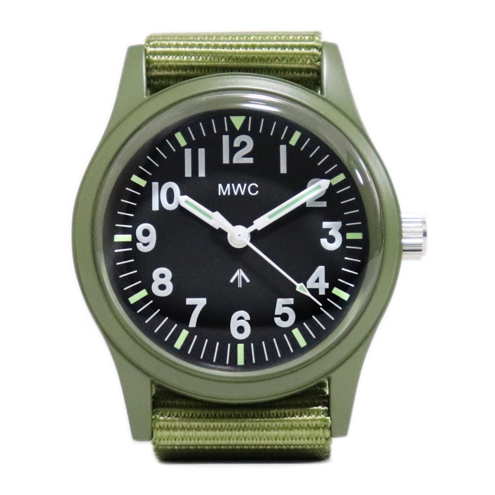 MWC Mil-1966 Military Disposable Watch -Olive Drab-