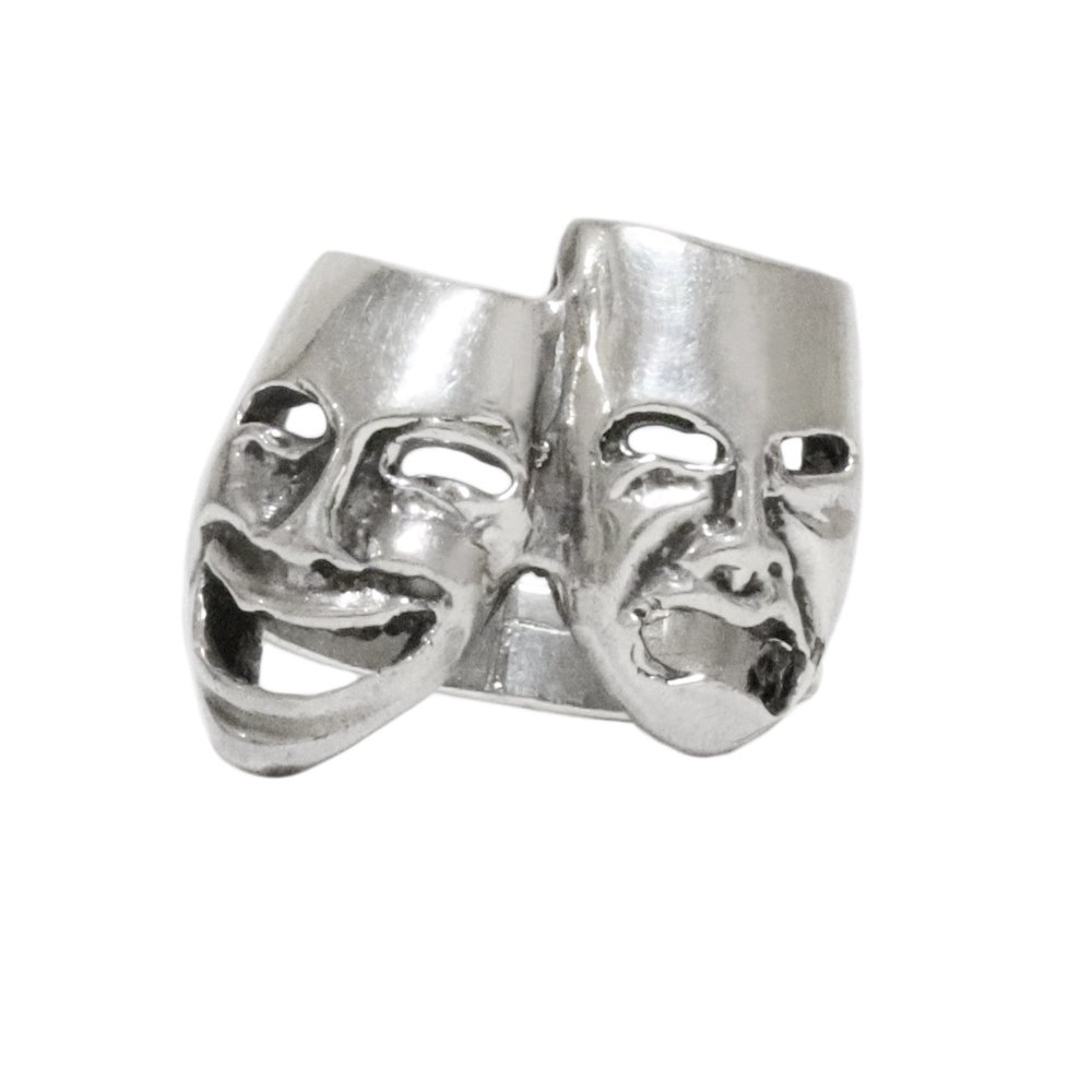 Taxco Mexican 925 Silver Two Face Ring