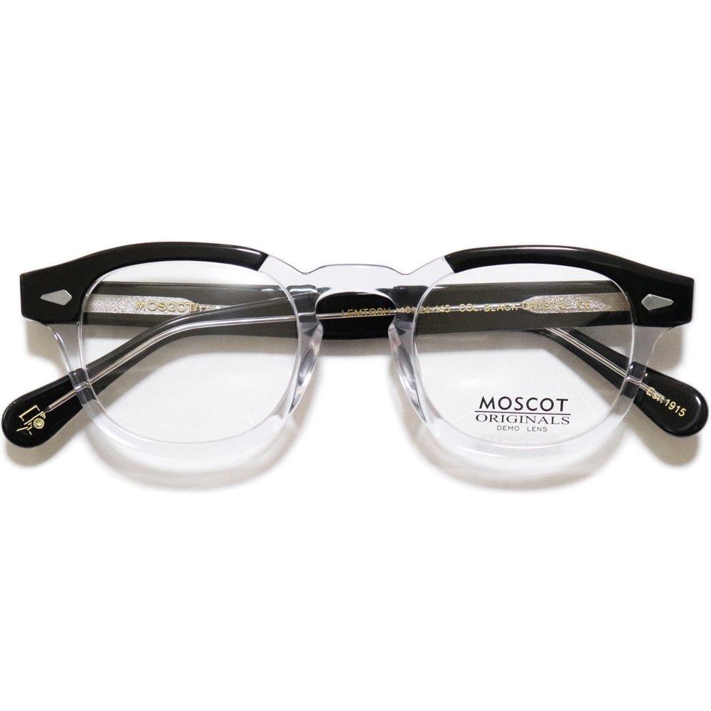Moscot Lemtosh Eyeglasses -Black / Crystal-