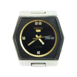 Vintage SEIKO Watch -4 Dia Stone-