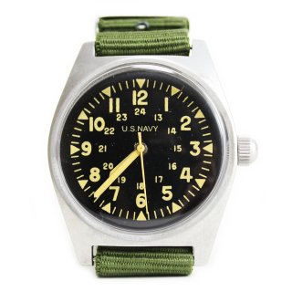 【Dead Stock】US Navy Vietnam War Wrist Watch
