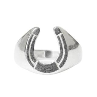 Vintage AVON Horseshoe Ring -Sterling Silver-
