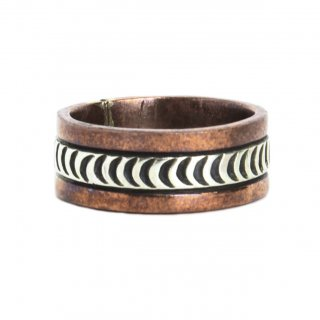 Navajo Indian Jewelry Copper Band Ring